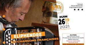 Apéro concert : Eliphendre @ Art'Kfé | Libourne | Nouvelle-Aquitaine | France