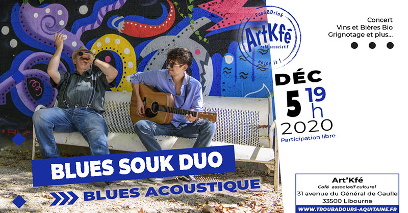 Concert : Blues souk duo