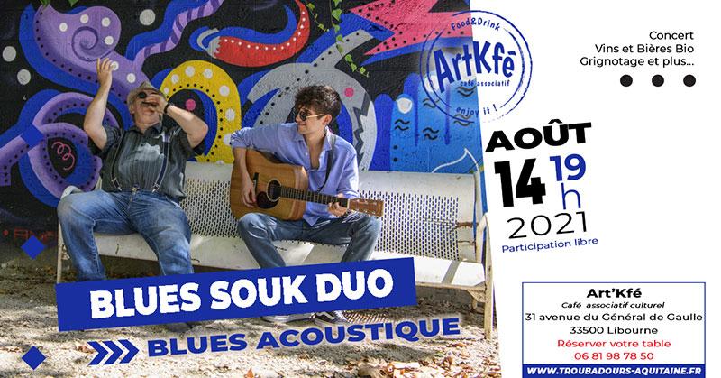 Apéro concert : Blues souk