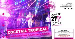 Apéro Concert : Cocktail Tropical @ Art'Kfé | Libourne | Nouvelle-Aquitaine | France