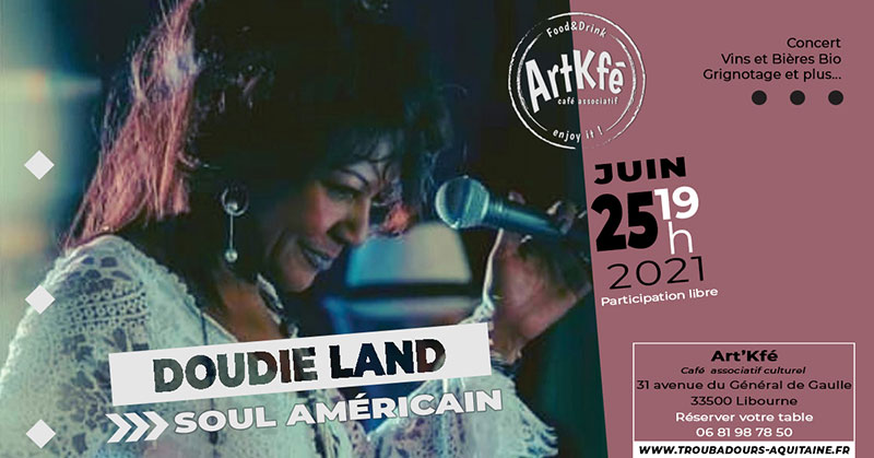 You are currently viewing Apéro concert : Doudie Land