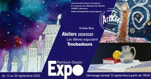 Vernissage Ateliers des élèves - Peinture/Dessin @ Art'Kfé | Libourne | Nouvelle-Aquitaine | France
