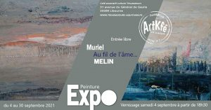 Vernissage Muriel Melin - Peinture @ Art'Kfé | Libourne | Nouvelle-Aquitaine | France
