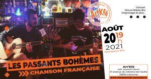 Apéro concert : Les passants bohèmes @ Art'Kfé | Libourne | Nouvelle-Aquitaine | France