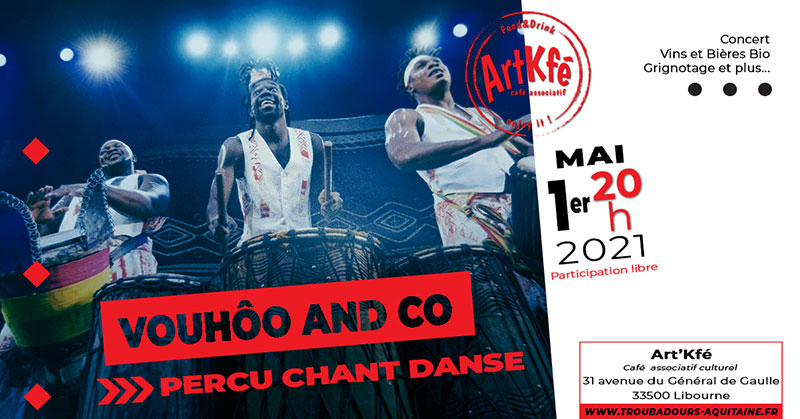 Concert spectacle  : Vouhôo and co
