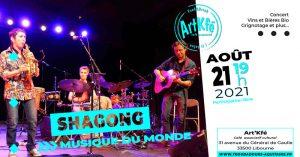 Apéro Concert : Shagong @ Art'Kfé | Libourne | Nouvelle-Aquitaine | France