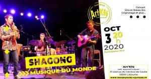 Concert : Shagong @ Art'Kfé | Libourne | Nouvelle-Aquitaine | France