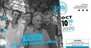 Apéro concert : TM2D @ Art'Kfé | Libourne | Nouvelle-Aquitaine | France