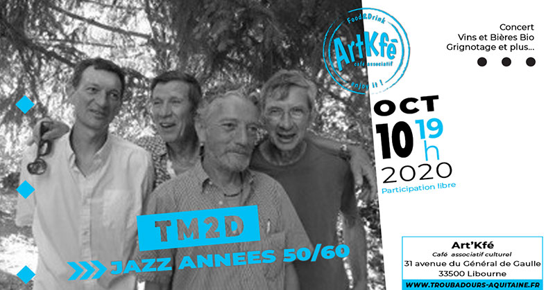 Apéro concert : TM2D
