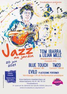Festival Jazz au jardin @ Art'Kfé | Libourne | Nouvelle-Aquitaine | France