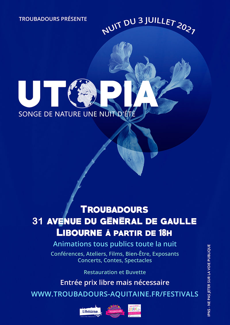 You are currently viewing Festival UTOPIA, songe de nature une nuit d'été