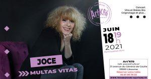 Apéro concert : Joce @ Art'Kfé | Libourne | Nouvelle-Aquitaine | France