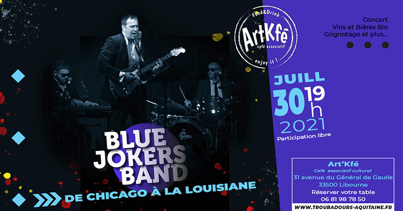 You are currently viewing Apéro concert : Blue Jokers Band